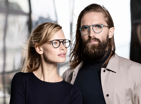 Ladies and mens spectacles from Denmark
