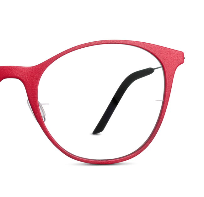 red glasses from Monoqool