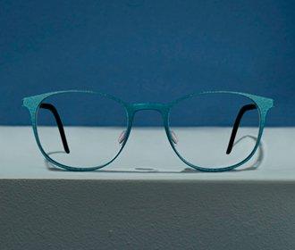 3D printed IQ mini glasses