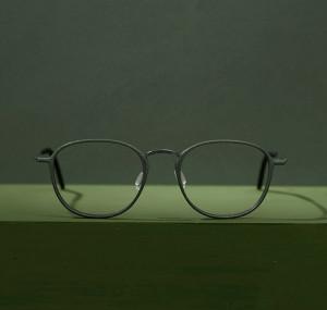 Green glasses. 3D printed