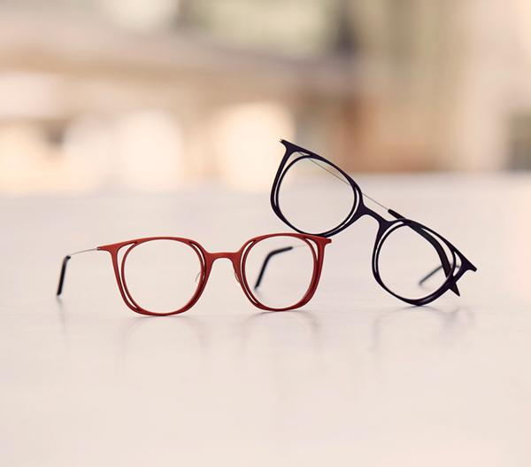 3D printed glasses. Unique eyewear.