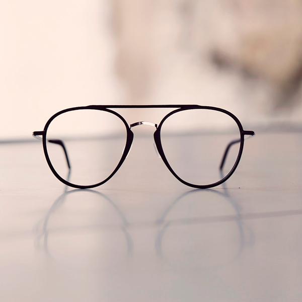 Oversize glasses. 3D printed eye glasses