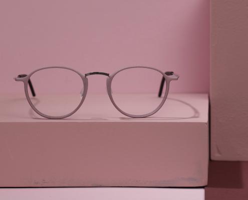 3d printed eyewear. Innovative glasses