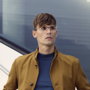 Round glasses for men.Monoqool