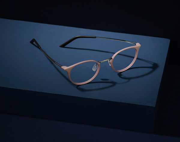 Cool round glasses. 3D printed from Monoqool