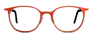 Ladies glasses. Red. 3D printed from Monoqool