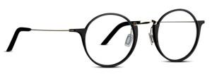 Round glasses. 3D printed eye glasses