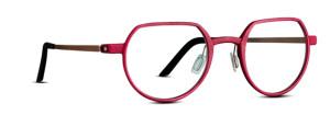 Red glasses. Cool eyewear