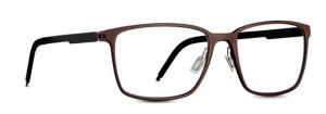 Brown glasses. 3D printed eyewear
